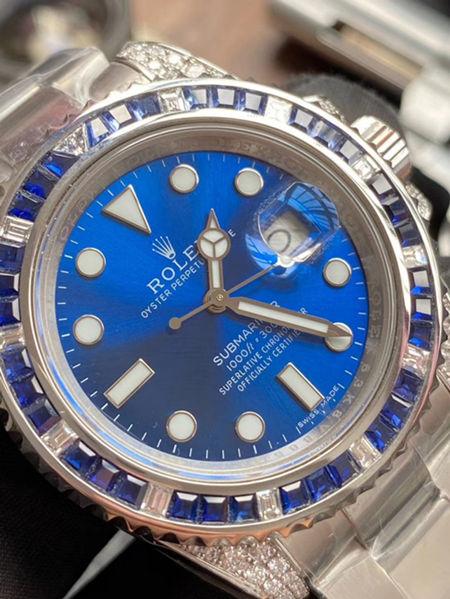 1:1 Replica Watch Blue Rolex Submariner 116659